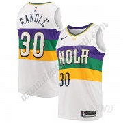 Basketball Trikot Kinder New Orleans Pelicans 2019-20 Julius Randle 30# Weiß City Edition Swingman..