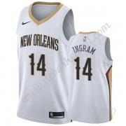 Basketball Trikot Kinder New Orleans Pelicans 2019-20 Brandon Ingram 14# Weiß Association Edition Sw..