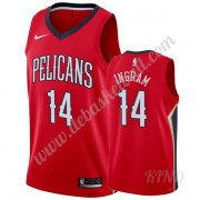 Basketball Trikot Kinder New Orleans Pelicans 2019-20 Brandon Ingram 14# Rot Statement Edition Swing..
