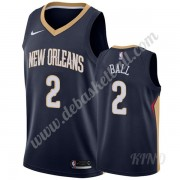 Basketball Trikot Kinder New Orleans Pelicans 2019-20 Lonzo Ball 2# Marine Icon Edition Swingman..