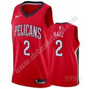 Basketball Trikot Kinder New Orleans Pelicans 2019-20 Lonzo Ball 2# Rot Statement Edition Swingman..