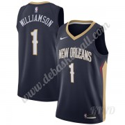 Basketball Trikot Kinder New Orleans Pelicans 2019-20 Zion Williamson 1# Marine Icon Edition Swingma..
