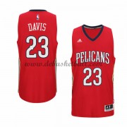 New Orleans Pelicans Basketball Trikots 2015-16 Anthony Davis 23# Alternate Trikot Swingman..