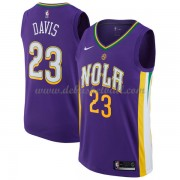 New Orleans Pelicans Basketball Trikots 2018 Anthony Davis 23# City Swingman..