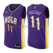 New Orleans Pelicans Basketball Trikots 2018 Jrue Holiday 11# City Swingman..