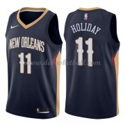 New Orleans Pelicans Basketball Trikots 2018 Jrue Holiday 11# Road Trikot Swingman..