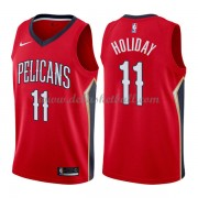 New Orleans Pelicans Basketball Trikots 2018 Jrue Holiday 11# Alternate Trikot Swingman..