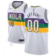 New Orleans Pelicans Basketball Trikots NBA 2019-20 Weiß City Edition Swingman..
