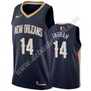 New Orleans Pelicans Basketball Trikots NBA 2019-20 Brandon Ingram 14# Marine Icon Edition Swingman..