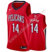 New Orleans Pelicans Basketball Trikots NBA 2019-20 Brandon Ingram 14# Rot Statement Edition Swingma..