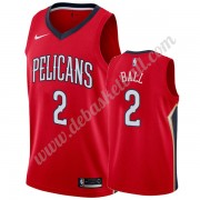 New Orleans Pelicans Basketball Trikots NBA 2019-20 Lonzo Ball 2# Rot Statement Edition Swingman..