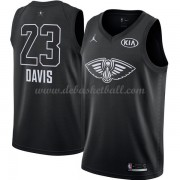 New Orleans Pelicans Basketball Trikots Anthony Davis 23# Black 2018 All Star Game Swingman..