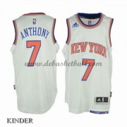 Basketball Trikot Kinder New York Knicks 2015-16 Carmelo Anthony 7# Home Swingman..