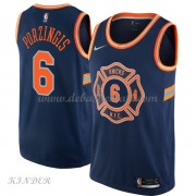 Basketball Trikot Kinder New York Knicks 2018 Kristaps Porzingis 6# City Swingman..