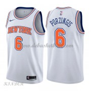Basketball Trikot Kinder New York Knicks 2018 Kristaps Porzingis 6# Alternate Swingman..