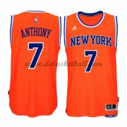 New York Knicks Basketball Trikots 2015-16 Carmelo Anthony 7# Alternate Trikot Swingman..