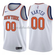 New York Knicks Basketball Trikots 2018 Enes Kanter 0# Home Trikot Swingman..
