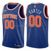 New York Knicks Basketball Trikots 2018 Enes Kanter 0# Road Trikot Swingman..