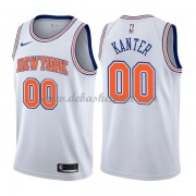 New York Knicks Basketball Trikots 2018 Enes Kanter 0# Alternate Trikot Swingman..