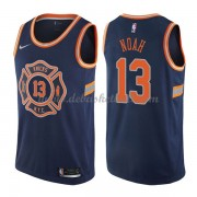 New York Knicks Basketball Trikots 2018 Joakim Noah 13# City Swingman..
