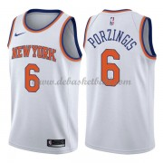 New York Knicks Basketball Trikots 2018 Kristaps Porzingis 6# Home Trikot Swingman..