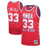 New York Knicks Basketball Trikots Patrick Ewing 33# Red 1989 All Star Hardwood Classics Swingman..