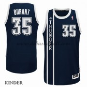 Basketball Trikot Kinder Oklahoma City Thunder 2015-16 Kevin Durant 35# Blau Alternate Swingman