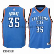 Basketball Trikot Kinder Oklahoma City Thunder 2015-16 Kevin Durant 35# Road Swingman