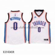 Basketball Trikot Kinder Oklahoma City Thunder 2015-16 Russell Westbrook 0# Home Swingman..
