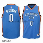 Basketball Trikot Kinder Oklahoma City Thunder 2015-16 Russell Westbrook 0# Road Swingman..