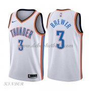 Basketball Trikot Kinder Oklahoma City Thunder 2018 Corey Brewer 3# Home Swingman..
