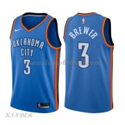 Basketball Trikot Kinder Oklahoma City Thunder 2018 Corey Brewer 3# Road Swingman..