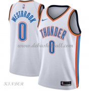 Basketball Trikot Kinder Oklahoma City Thunder 2018 Russell Westbrook 0# Home Swingman..