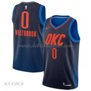 Basketball Trikot Kinder Oklahoma City Thunder 2018 Russell Westbrook 0# Alternate Swingman..