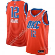 Basketball Trikot Kinder Oklahoma City Thunder 2019-20 Steven Adams 12# Orange Finished Statement Ed..