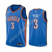 Basketball Trikot Kinder Oklahoma City Thunder 2019-20 Chris Paul 3# Blau Icon City Edition Swingman..