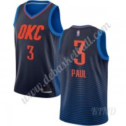 Basketball Trikot Kinder Oklahoma City Thunder 2019-20 Chris Paul 3# Blau Statement Edition Swingman..