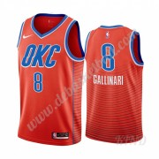 Basketball Trikot Kinder Oklahoma City Thunder 2019-20 Danilo Gallinari 8# Orange Statement Edition ..