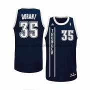 Oklahoma City Thunder Basketball Trikots 2015-16 Kevin Durant 35# Blau Alternate Trikot Swingman..