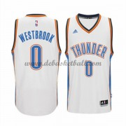 Oklahoma City Thunder Basketball Trikots 2015-16 Russell Westbrook 0# Home Trikot Swingman..