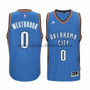 Oklahoma City Thunder Basketball Trikots 2015-16 Russell Westbrook 0# Road Trikot Swingman..