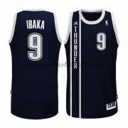 Oklahoma City Thunder Basketball Trikots 2015-16 Serge Ibaka 9# Blau Alternate Trikot Swingman..