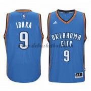 Oklahoma City Thunder Basketball Trikots 2015-16 Serge Ibaka 9# Road Trikot Swingman..