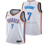 Oklahoma City Thunder Basketball Trikots 2018 Carmelo Anthony 7# Home Trikot Swingman..