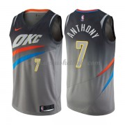 Oklahoma City Thunder Basketball Trikots 2018 Carmelo Anthony 7# City Swingman..