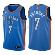Oklahoma City Thunder Basketball Trikots 2018 Carmelo Anthony 7# Road Trikot Swingman..