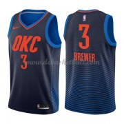 Oklahoma City Thunder Basketball Trikots 2018 Corey Brewer 3# Alternate Trikot Swingman..