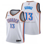 Oklahoma City Thunder Basketball Trikots 2018 Paul George 13# Home Trikot Swingman..