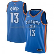Oklahoma City Thunder Basketball Trikots 2018 Paul George 13# Road Trikot Swingman..