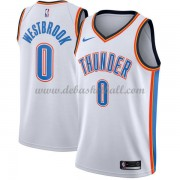 Oklahoma City Thunder Basketball Trikots 2018 Russell Westbrook 0# Home Trikot Swingman..